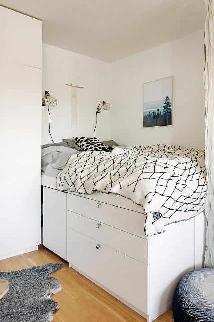 едностаен скандинавски апартамент -  11