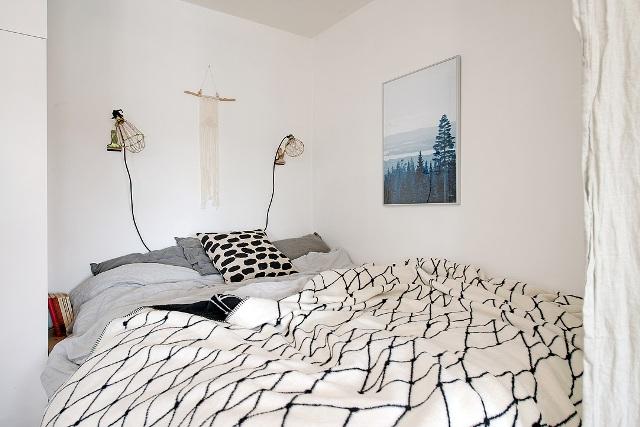 едностаен скандинавски апартамент -  12