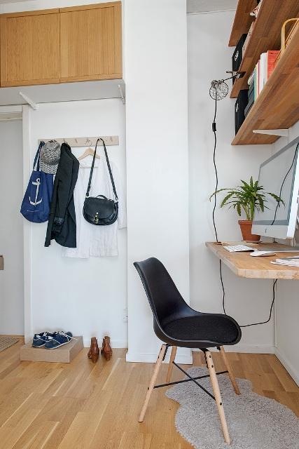 едностаен скандинавски апартамент -  13