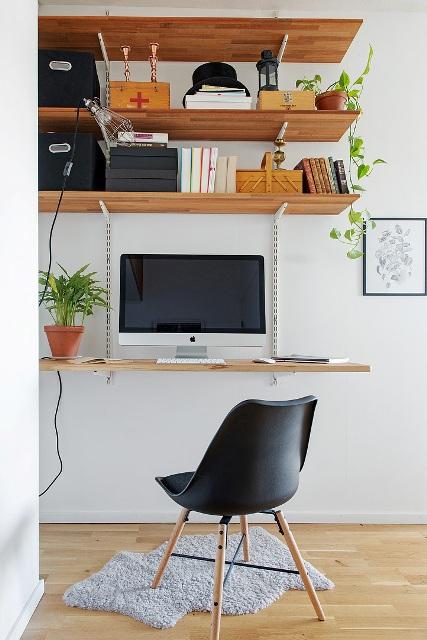 едностаен скандинавски апартамент -  15