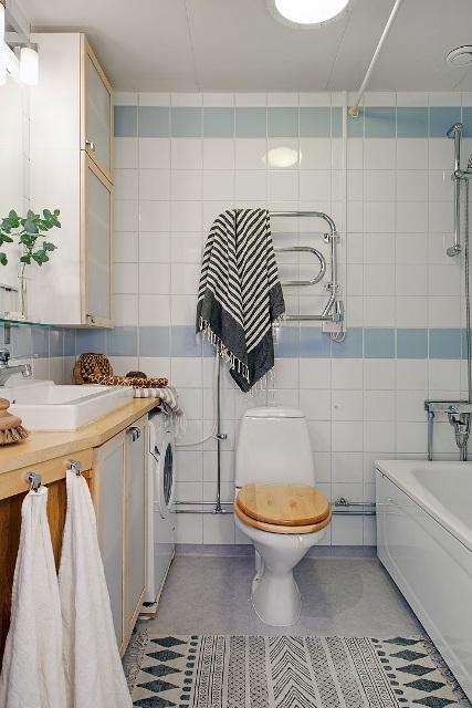 едностаен скандинавски апартамент -  16