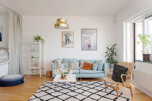 едностаен скандинавски апартамент - 4
