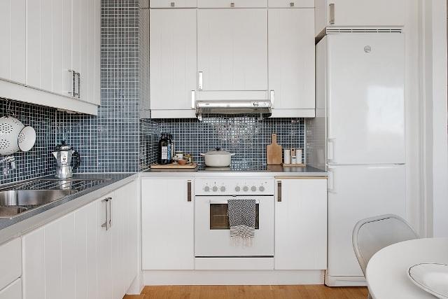 едностаен скандинавски апартамент - 9