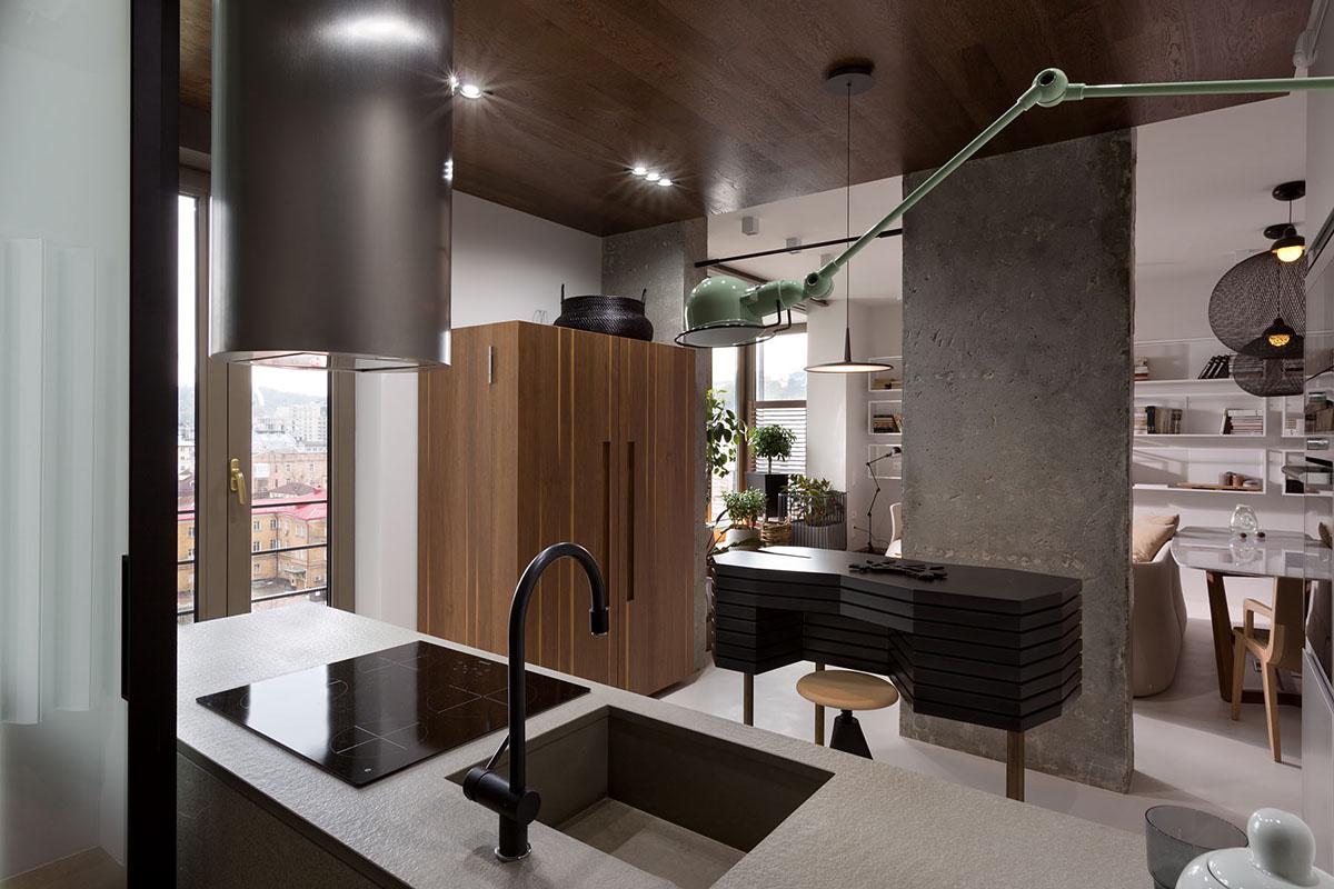 елегантен апартамент в стила на kenzo - 1