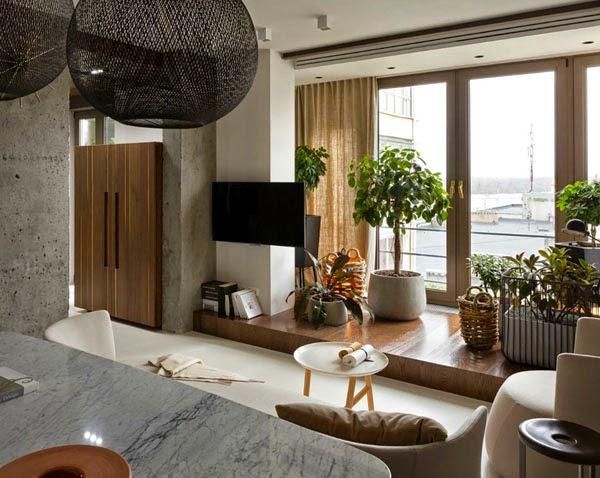 елегантен апартамент в стила на kenzo - 29