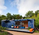 малката къща за гости от контейнери - 3