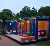 малката къща за гости от контейнери - 5