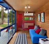 малката къща за гости от контейнери - 6