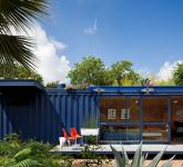 малката къща за гости от контейнери - 7