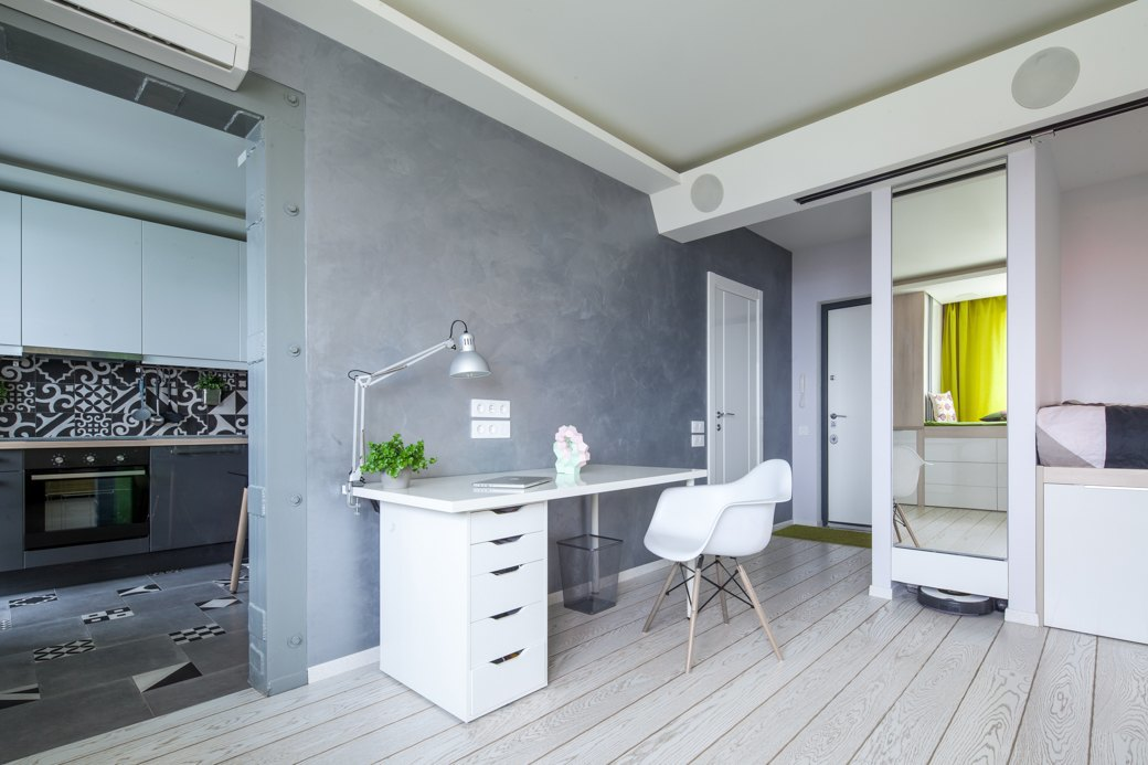 просторен малък апартамент - 10