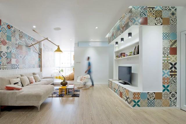 семейно жилище с геомтрични фигури - 1