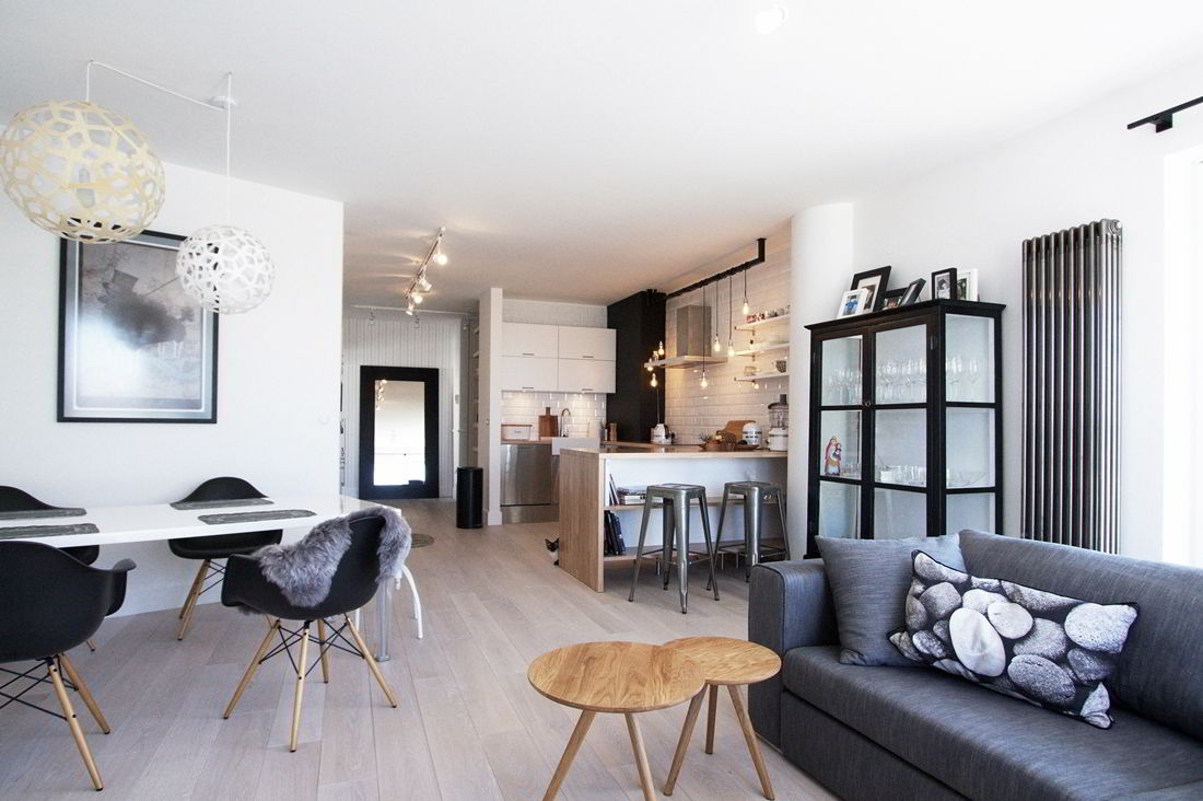 скандинавски апартамент 130 кв. м - 1