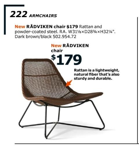 столът radviken