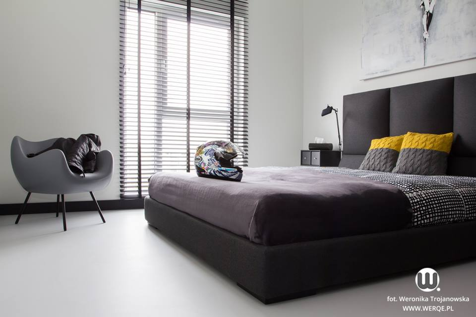 черно бял апартамент - 18