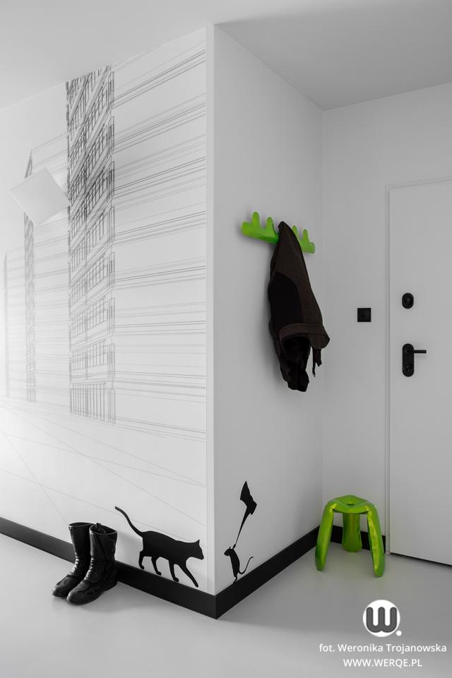 черно бял апартамент - 24