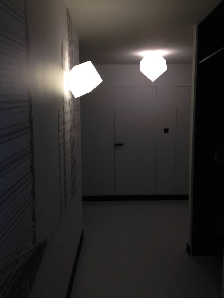 черно бял апартамент - 27