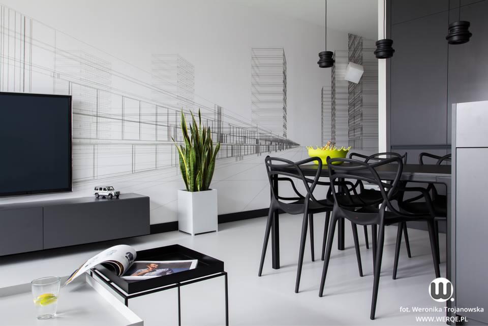 черно бял апартамент - 5