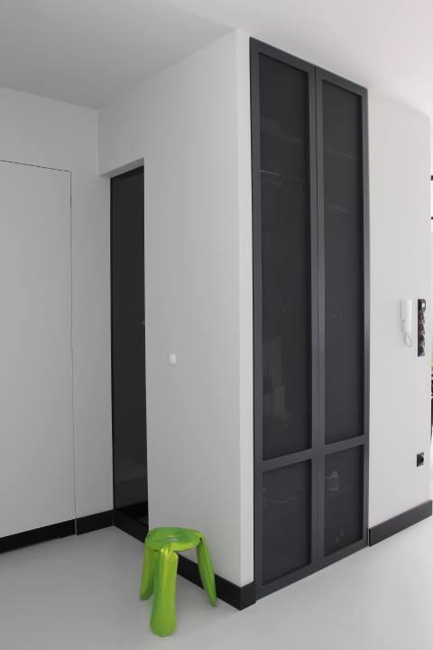 черно бял апартамент - 8