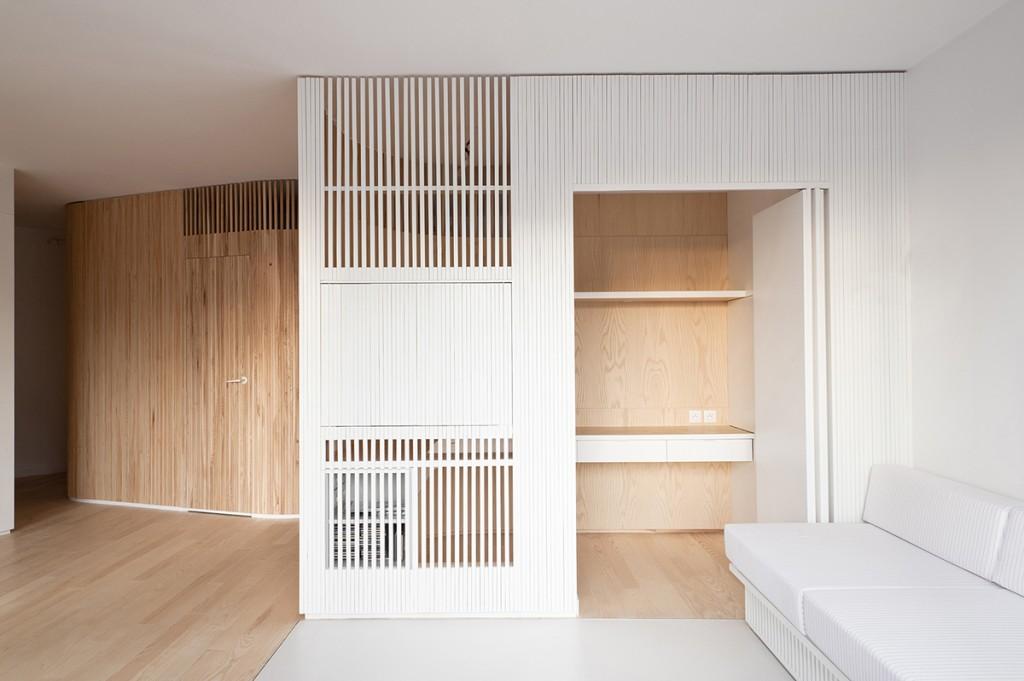 Апартамент със заоблени стени и интересно разположение - 6