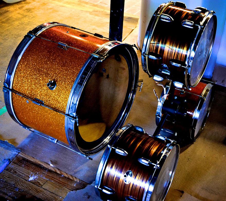 Лампата от барабани