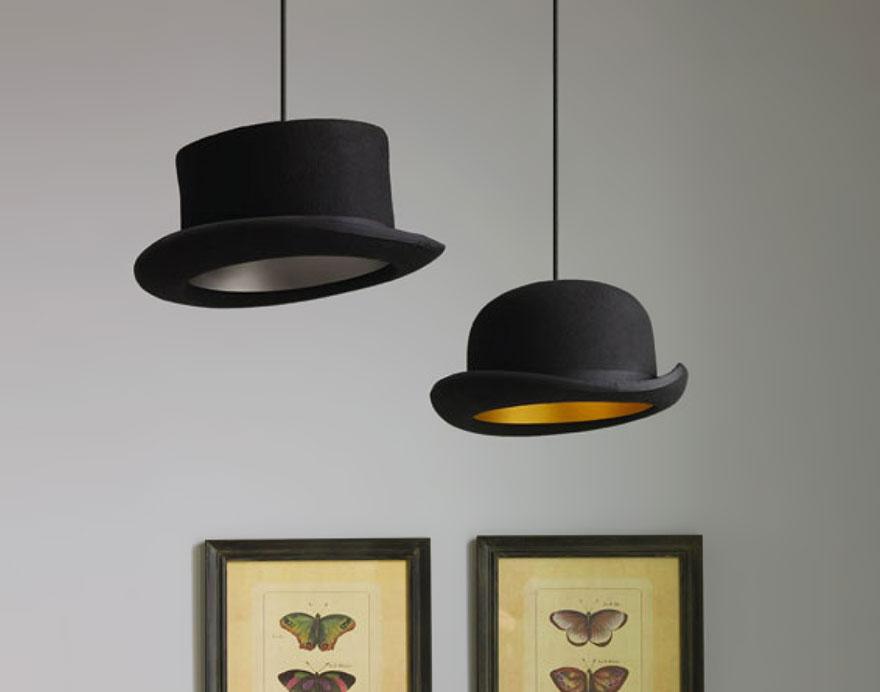 Лампа от шапка