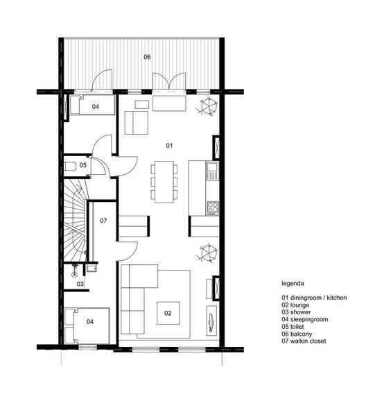 втори живот за тристайния апартамент - план