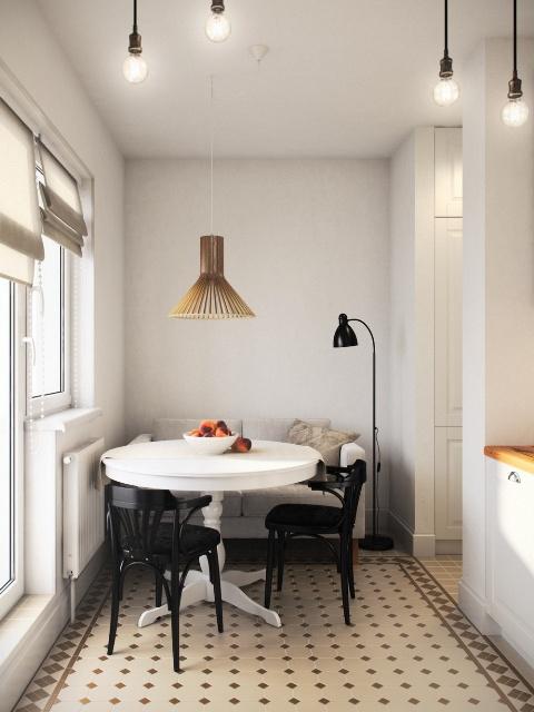 двустаен апартамент от 36 кв. м - 5