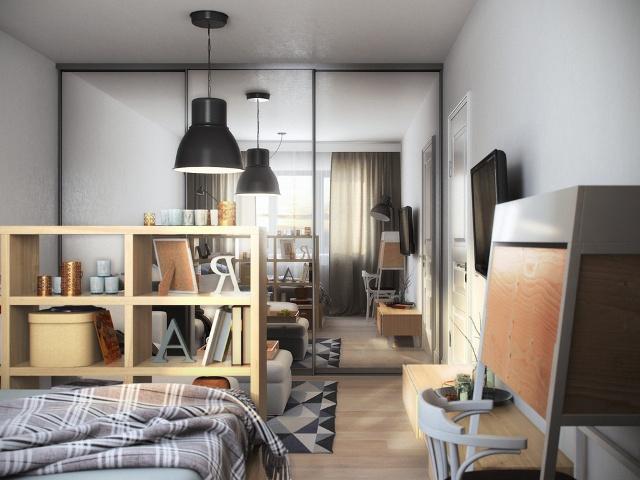 двустаен апартамент от 36 кв. м - 7