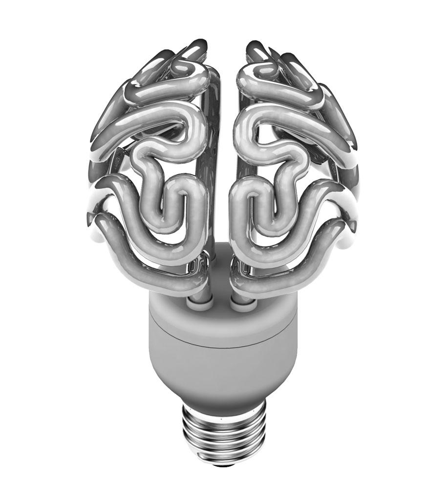 крушка във формата на мозък - 1