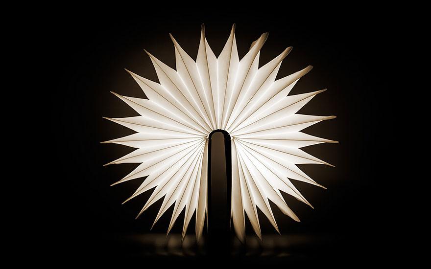 лампа като отваряща се книга - 3
