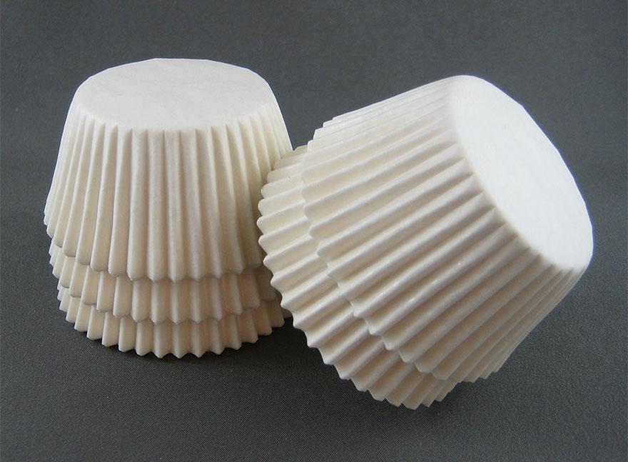 лампа от хартиени формички - 1