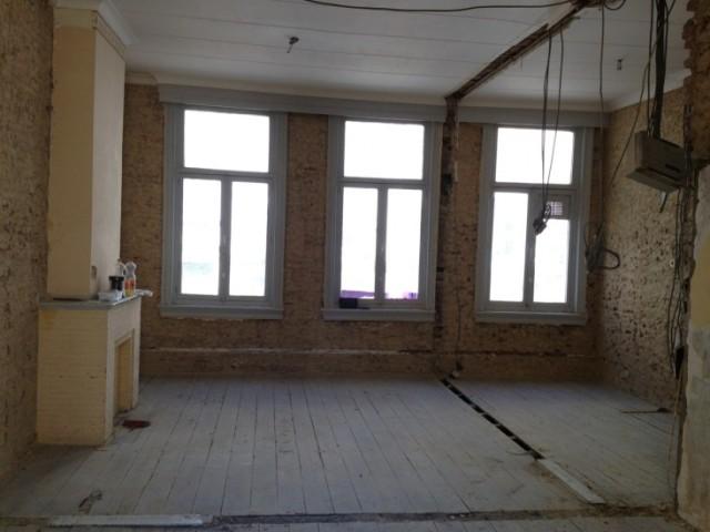 малко студио в бяло - преди