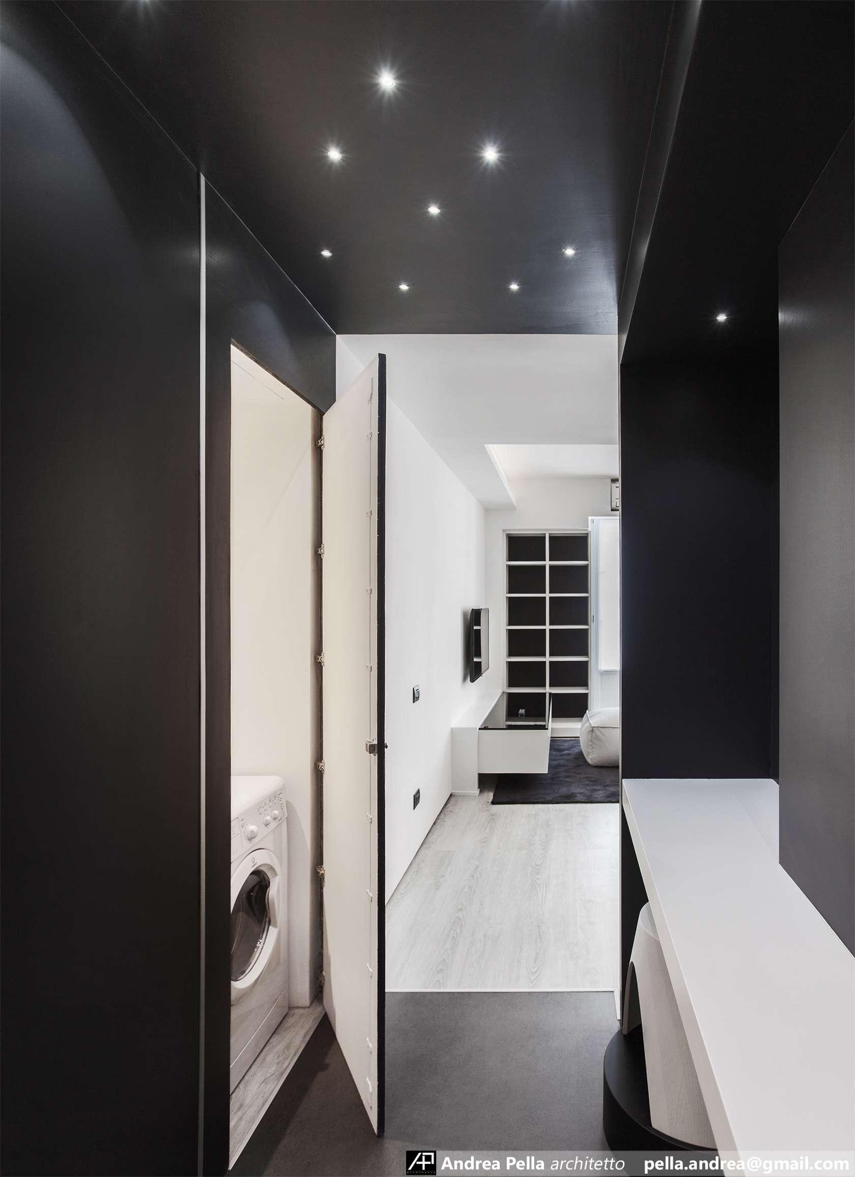 малък апартамент в минималистичен стил - 10