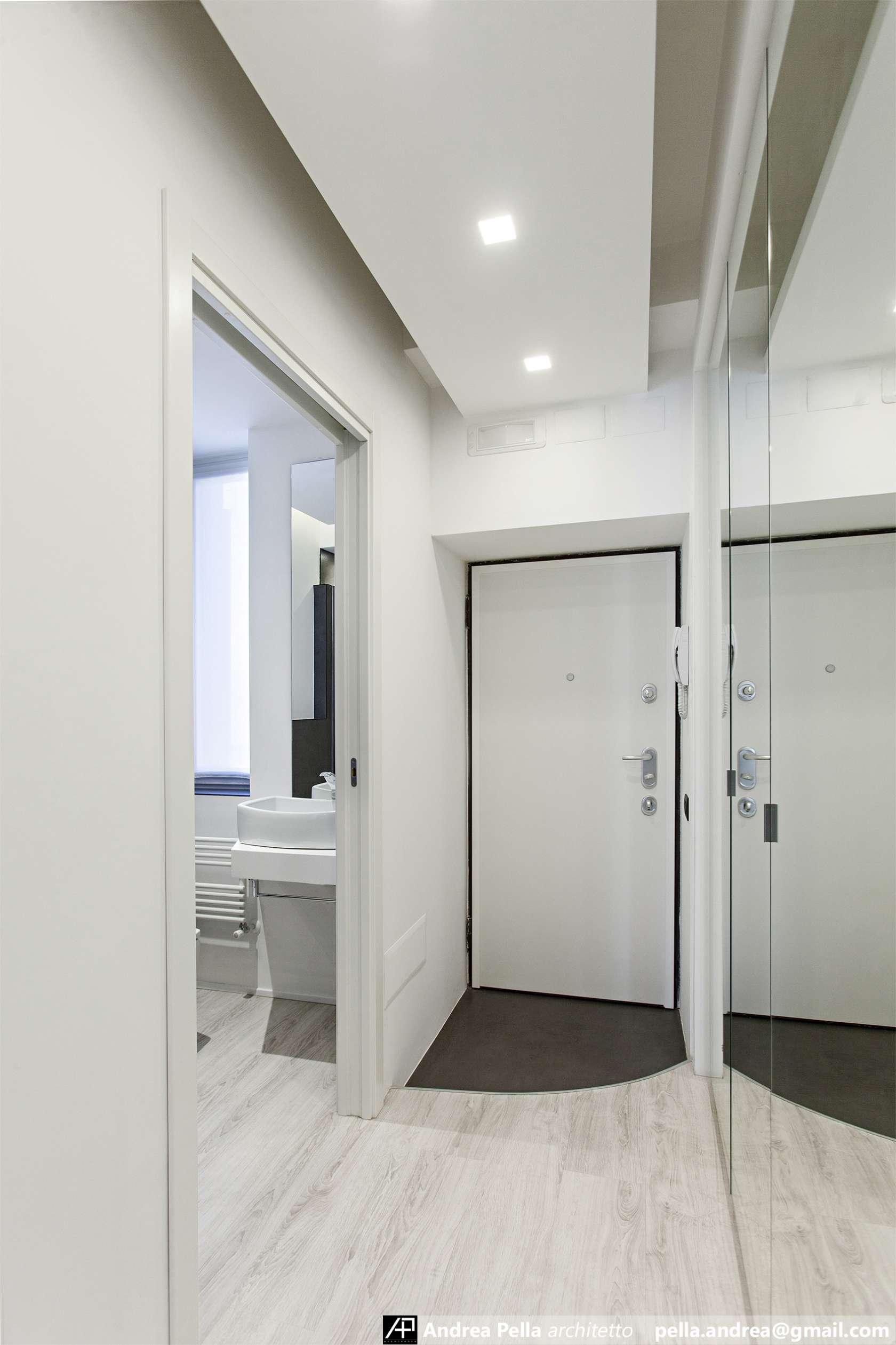 малък апартамент в минималистичен стил - 11