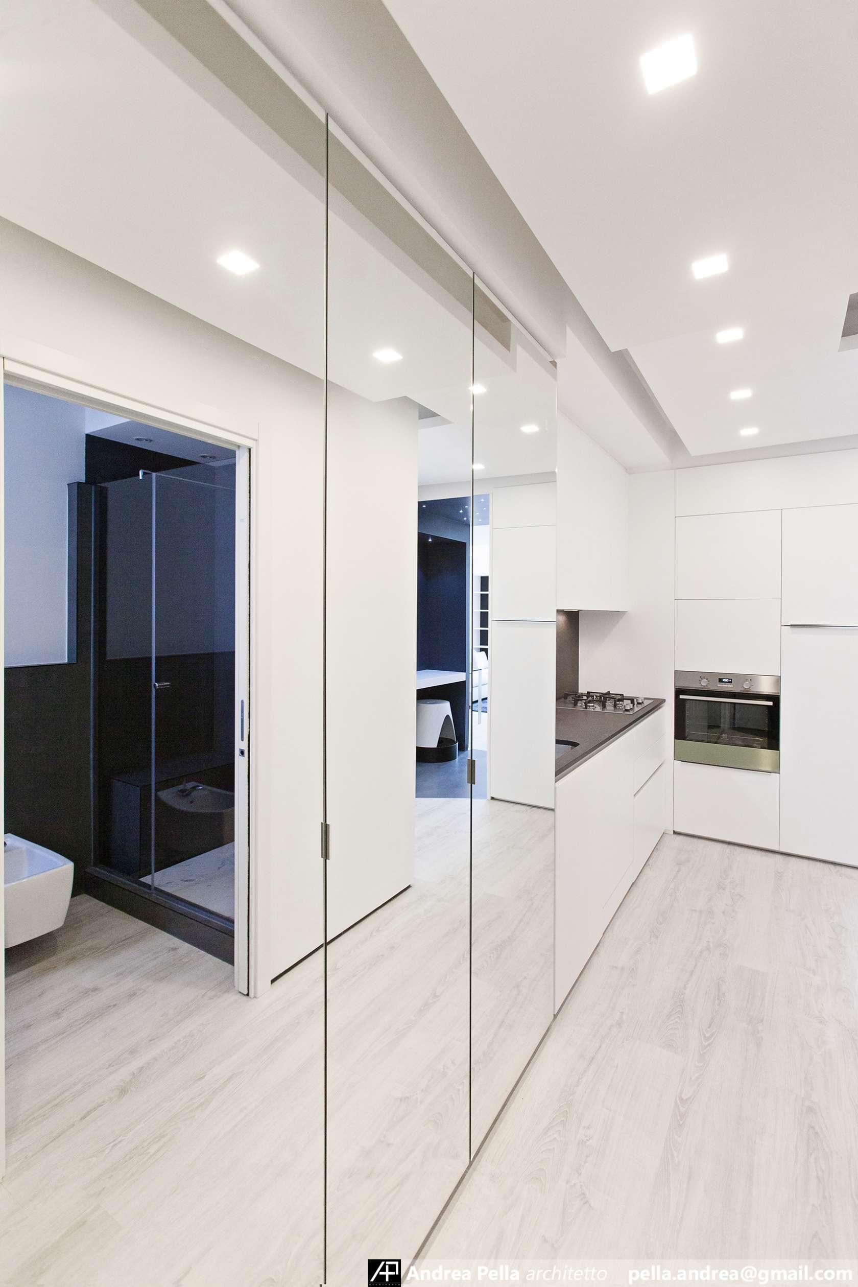 малък апартамент в минималистичен стил - 17