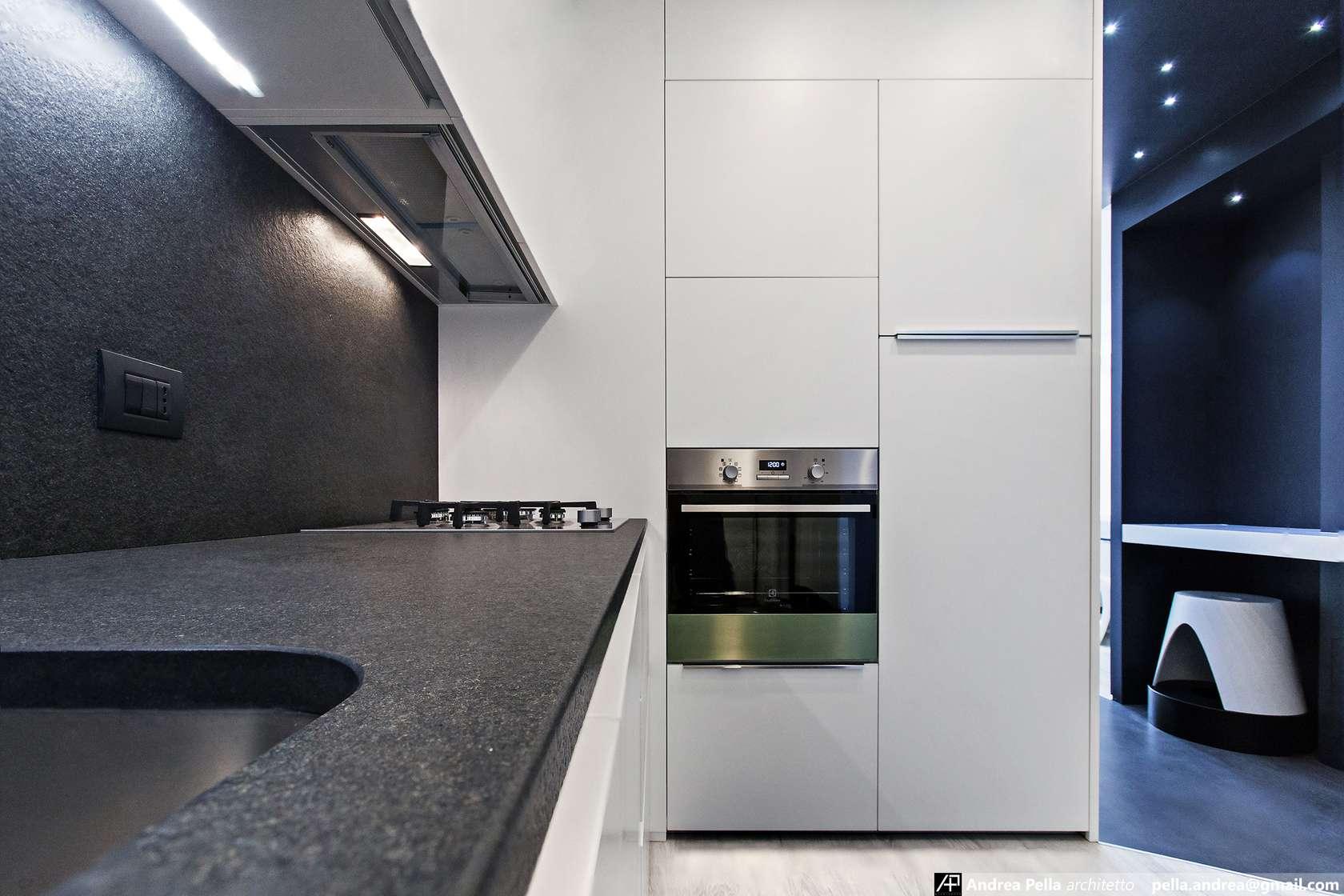 малък апартамент в минималистичен стил - 19