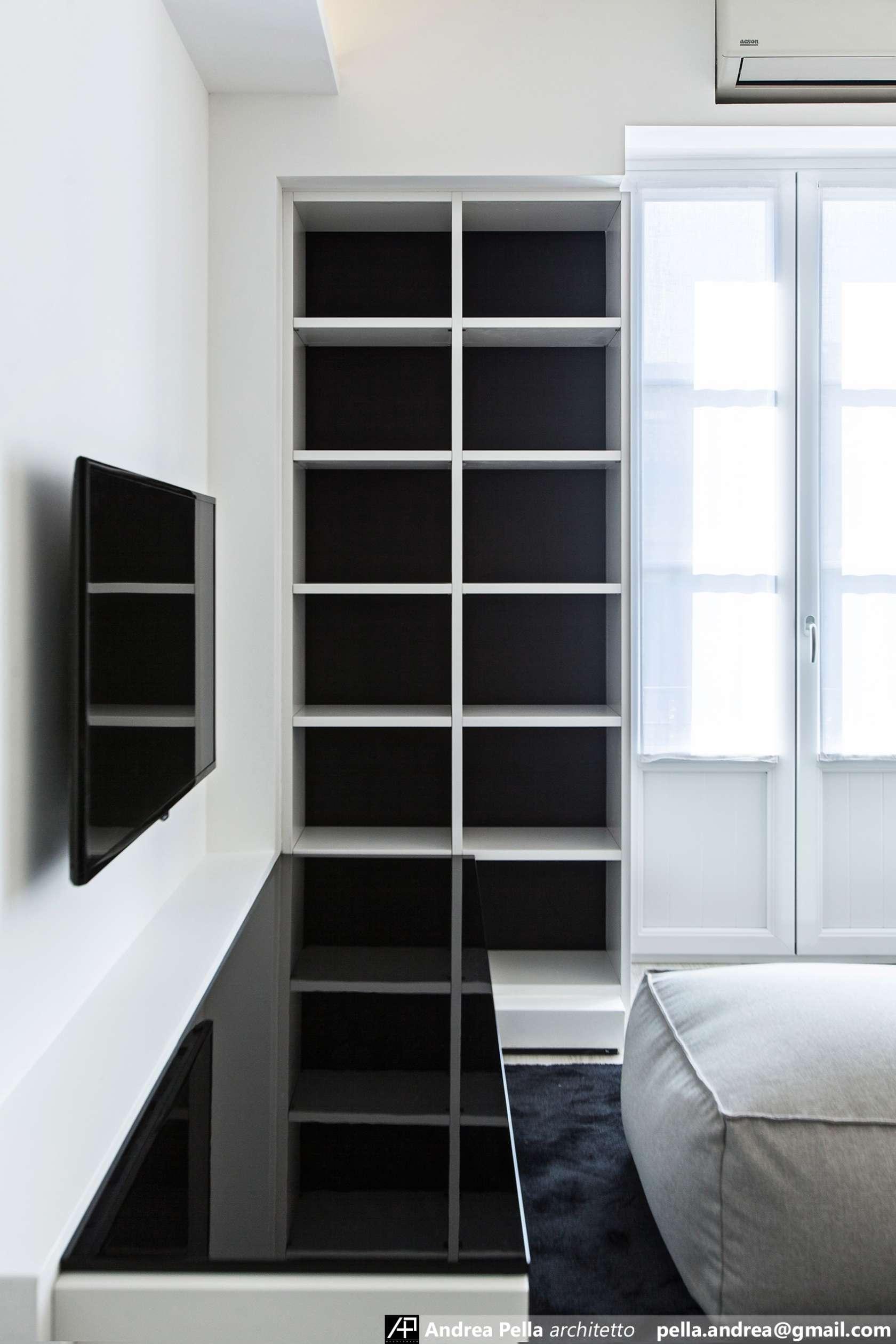 малък апартамент в минималистичен стил - 2