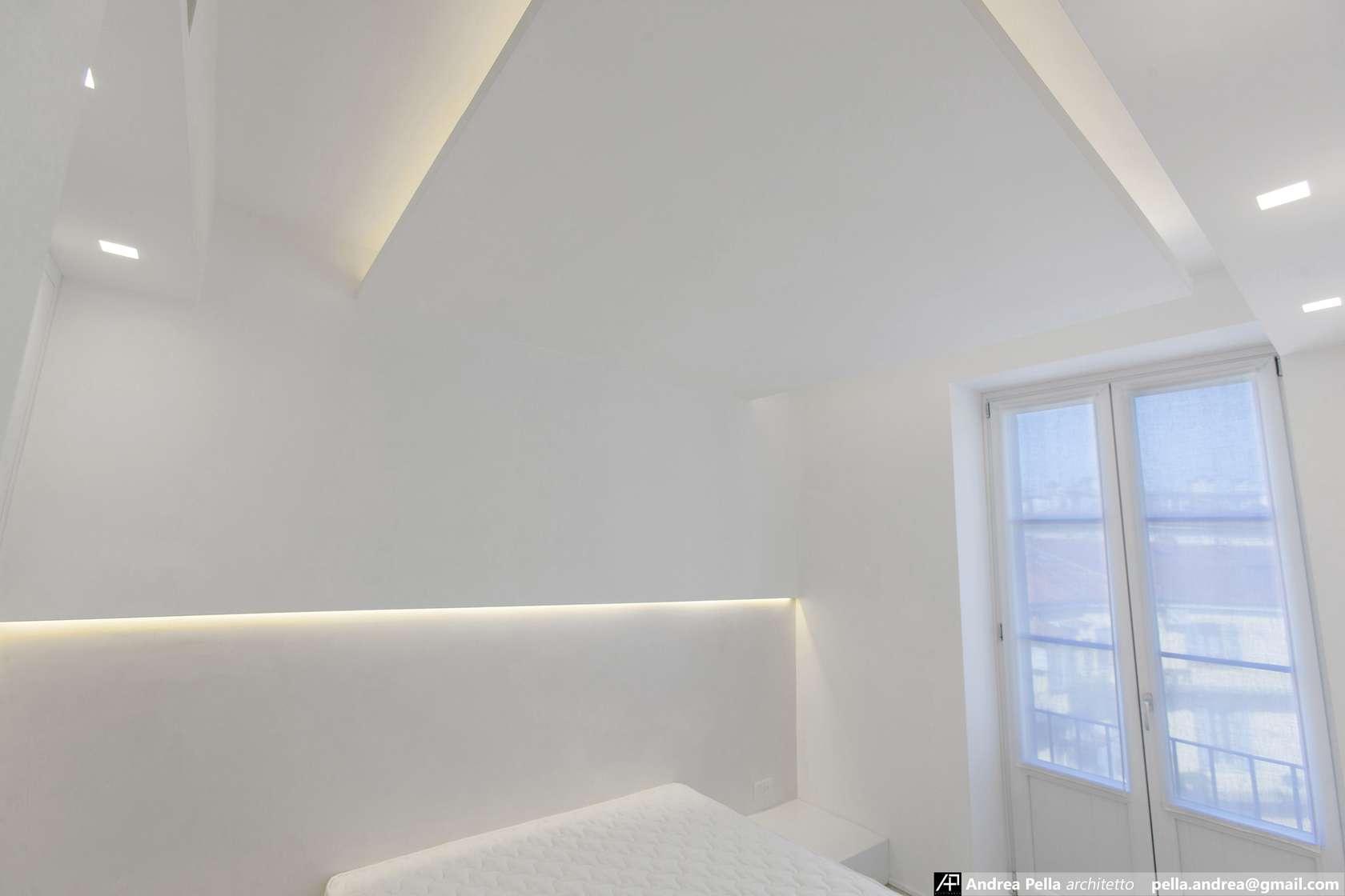 малък апартамент в минималистичен стил - 23