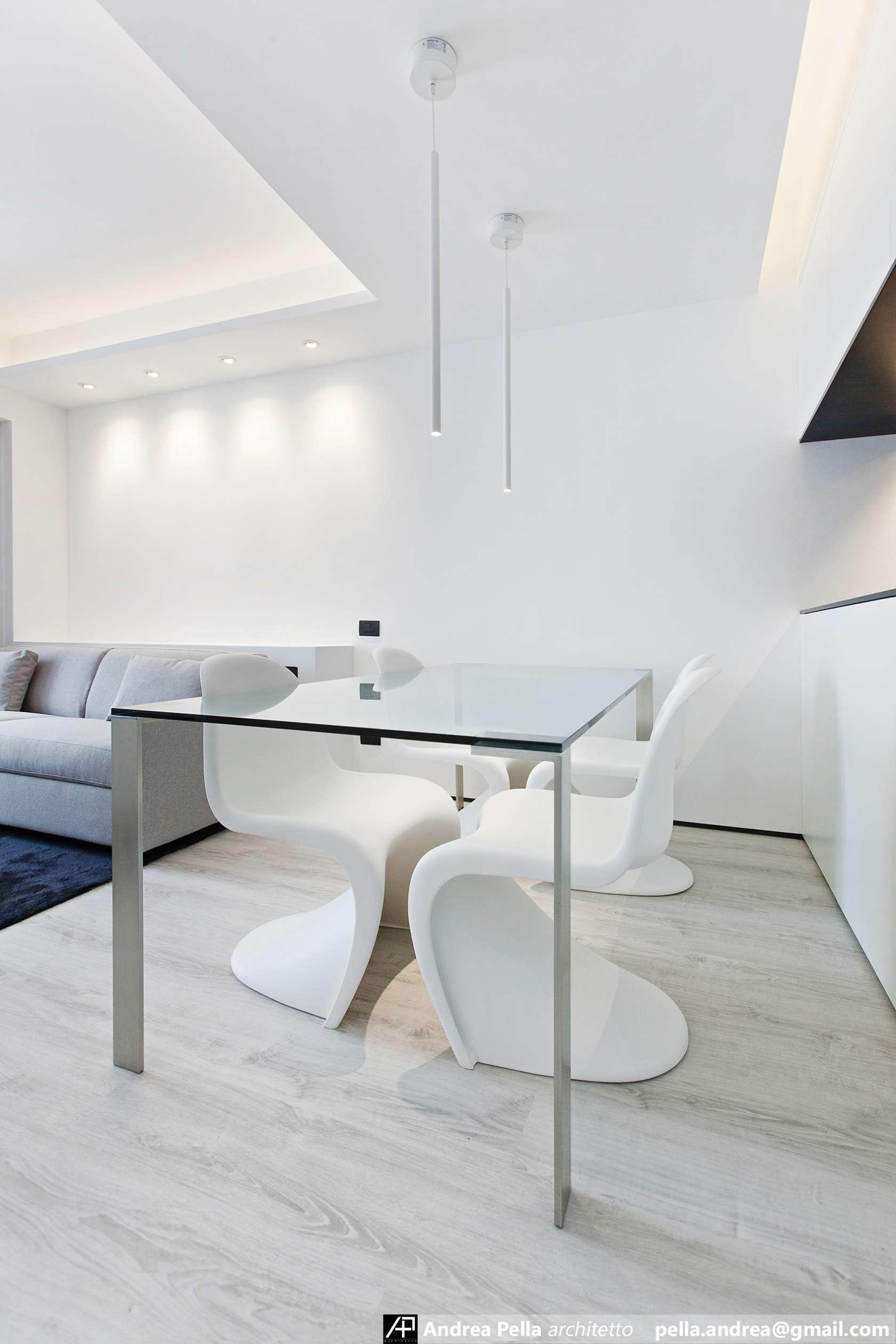малък апартамент в минималистичен стил - 3