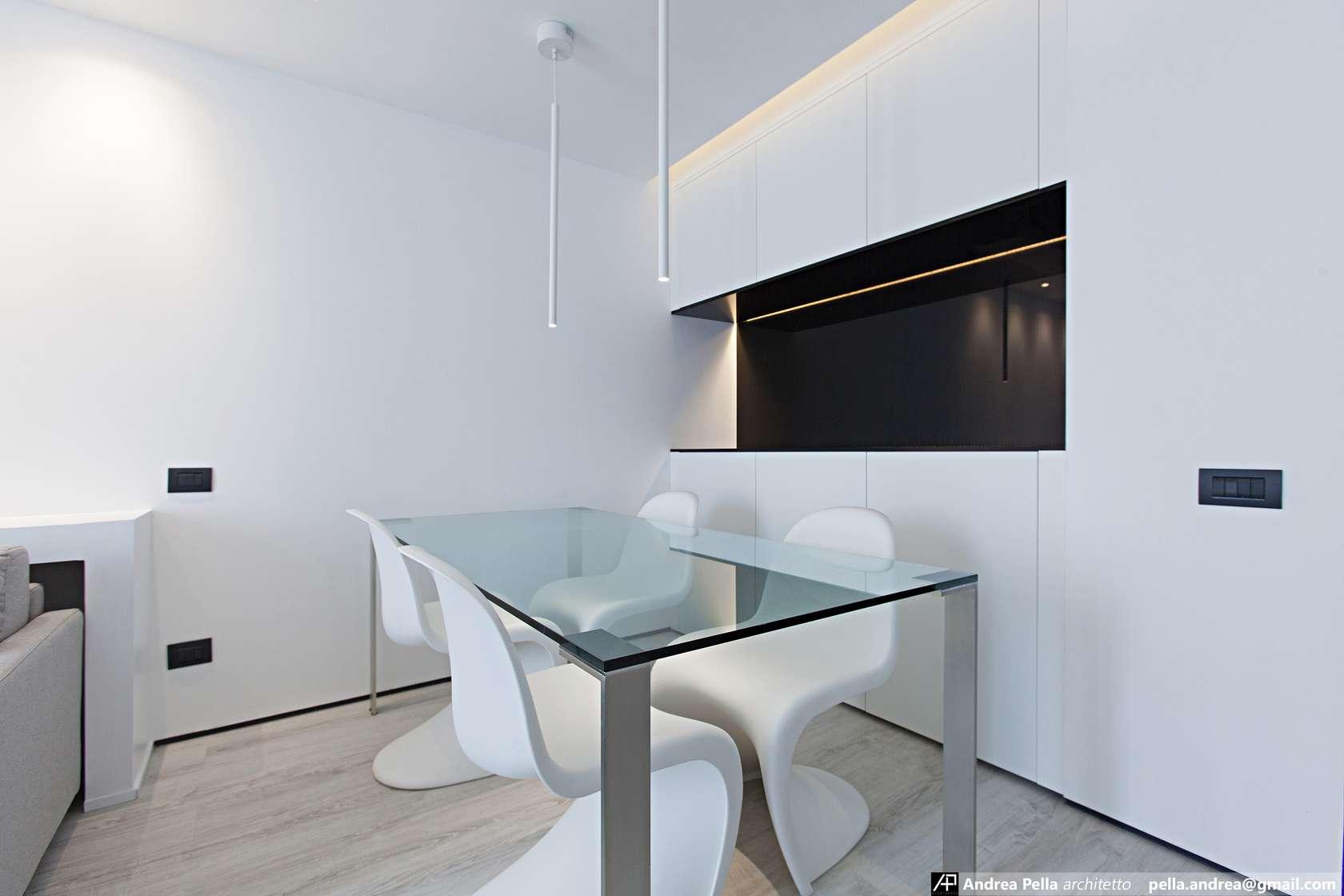 малък апартамент в минималистичен стил - 4