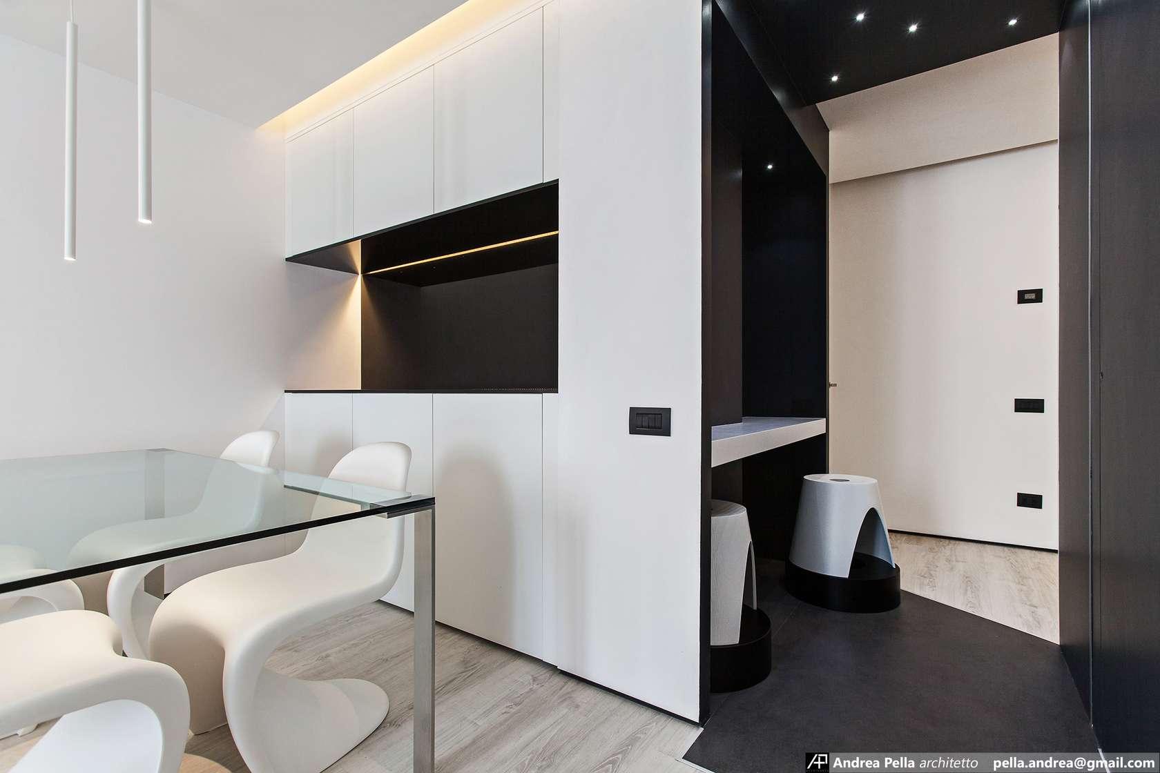 малък апартамент в минималистичен стил - 6