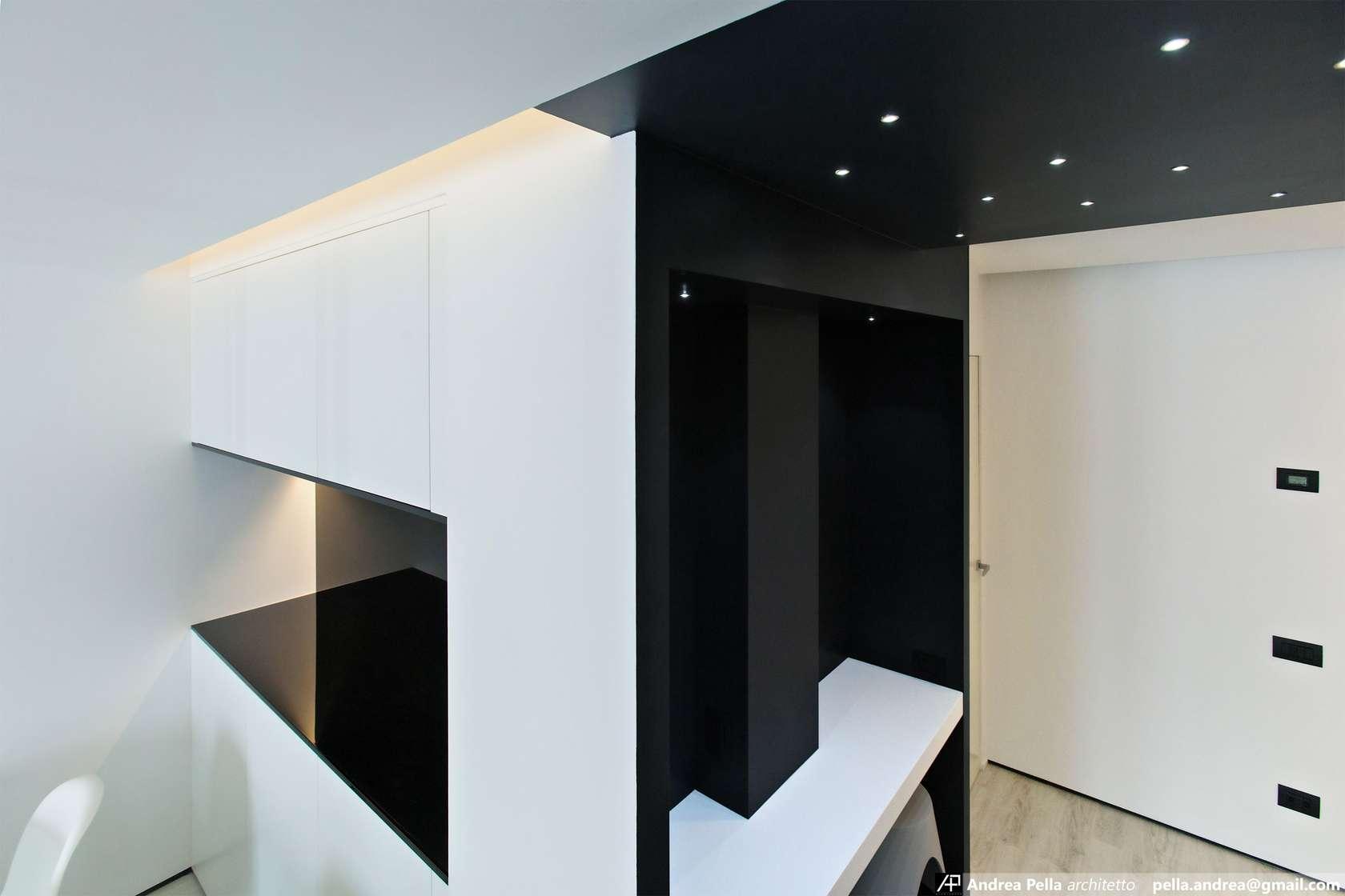 малък апартамент в минималистичен стил - 7