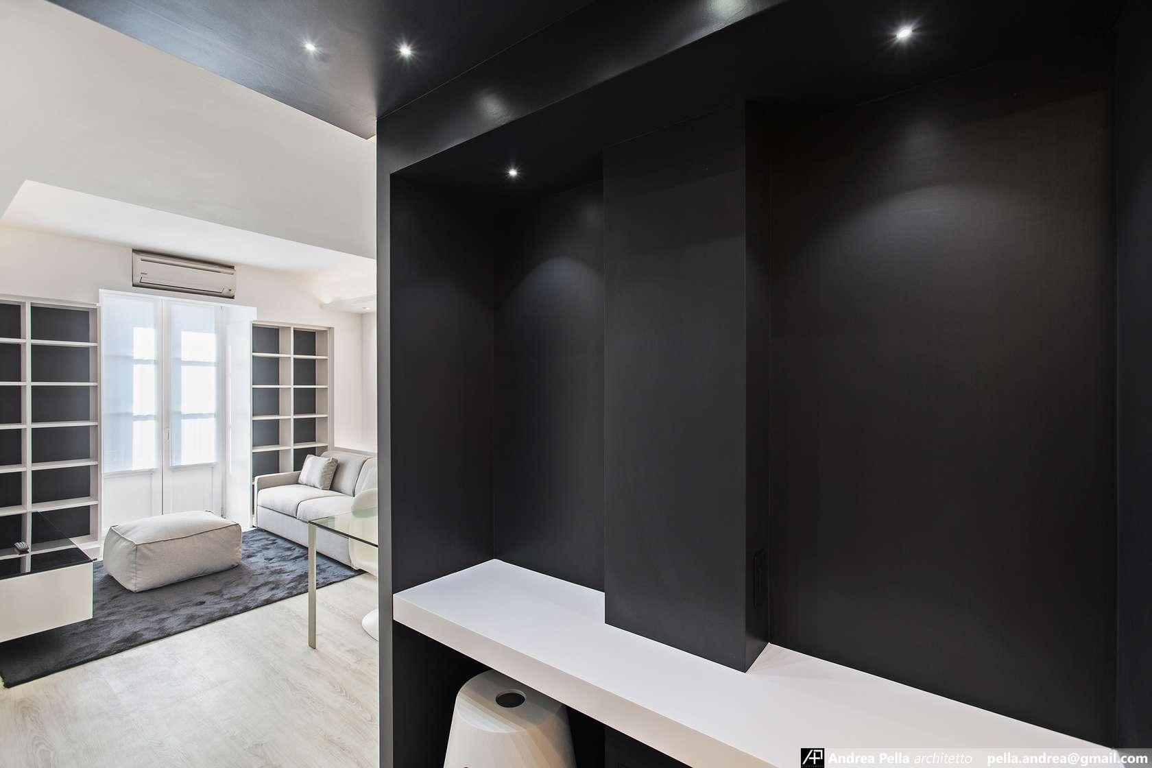 малък апартамент в минималистичен стил - 9