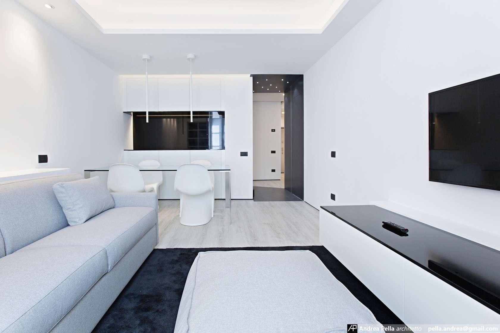 малък апартамент в минималистичен стил