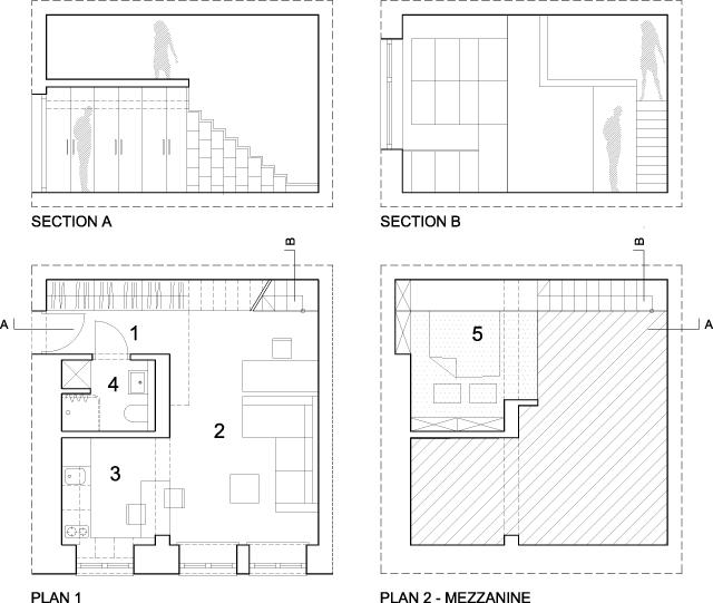 малък апартамент от 29 кв. м - 10