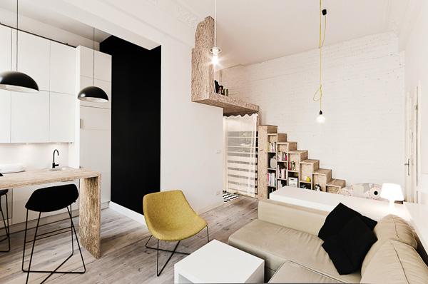 малък апартамент от 29 кв. м - 3