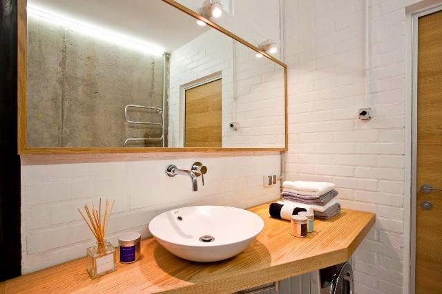 малък апартамент с бетонни стени - 17
