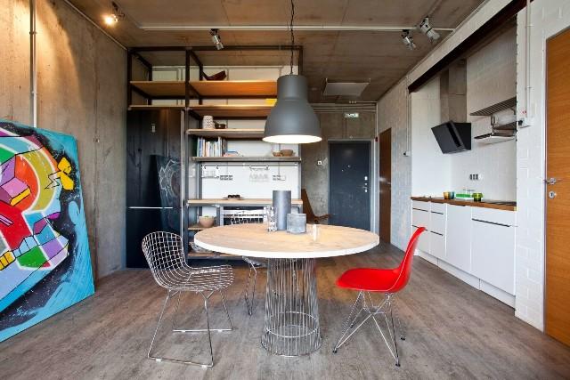 малък апартамент с бетонни стени - 2