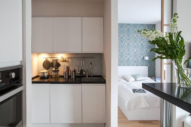 малък двустаен апартамент - 8