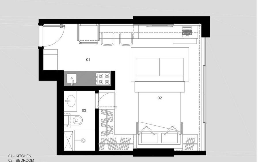 мултифункционален апартамент в Бразилия - 6